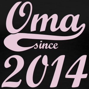 Oma Since 2014 T-Shirts - Frauen Premium T-Shirt