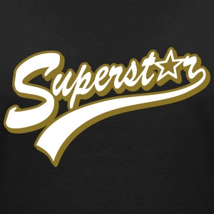 superstar T-Shirts - Women's V-Neck T-Shirt