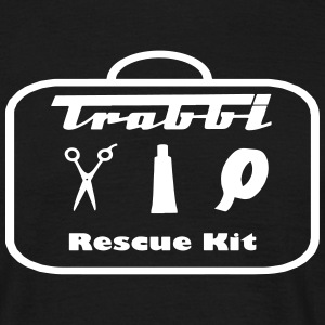 trabbi rescue kit T-shirts - Mannen T-shirt