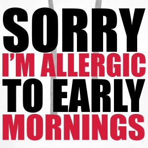 Allergic To Mornings Puserot - Miesten premium-huppari