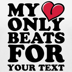 My Heart only beats for T-Shirts - Women's V-Neck T-Shirt