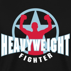 heavyweight fighter T-Shirts - Men's Premium T-Shirt