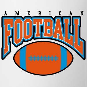 american football - rugby Bottles & Mugs - Mug
