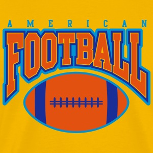 american football - rugby T-Shirts - Men's Premium T-Shirt