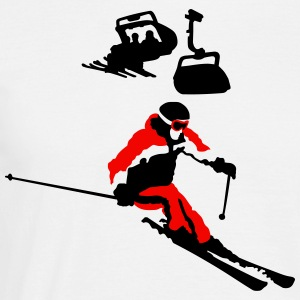 skiing T-Shirts - Men's T-Shirt