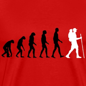 hiking evolution T-Shirts - Men's Premium T-Shirt