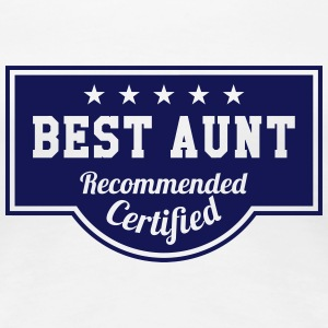 Best Aunt T-Shirts - Frauen Premium T-Shirt