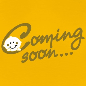 Coming soon Baby T-shirts - Vrouwen Premium T-shirt