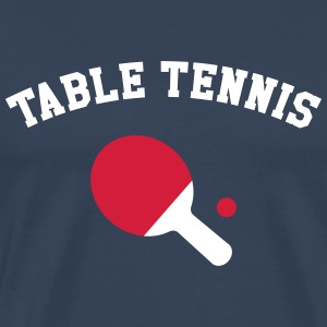 Table Tennis T-shirts - Mannen Premium T-shirt