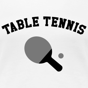 Table Tennis T-shirts - Premium-T-shirt dam