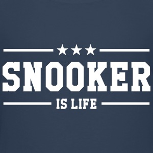 Snooker is life ! T-shirts - Premium-T-shirt tonåring