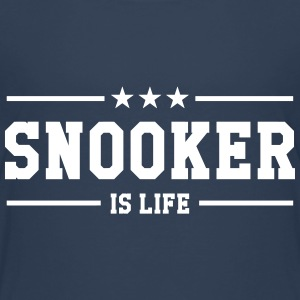 Snooker is life ! Skjorter - Premium T-skjorte for barn