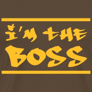 I'm the Boss Tee shirts - T-shirt Premium Homme
