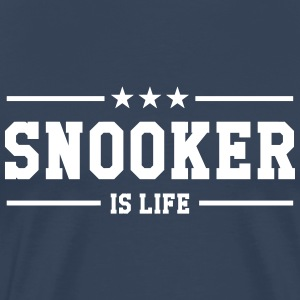 Snooker is life ! T-shirts - Herre premium T-shirt