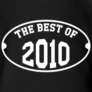 The Best of 2010 Tee shirts - Body bébé bio manches courtes