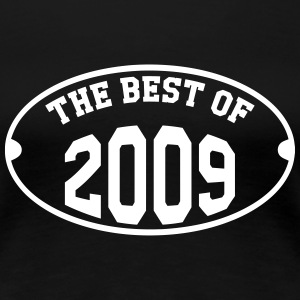 The Best of 2009 T-shirts - Vrouwen Premium T-shirt