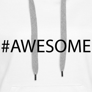 Awesome Sweat-shirts - Sweat-shirt à capuche Premium pour femmes