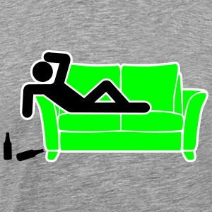 drunk hangover pictogram T-Shirts - Men's Premium T-Shirt