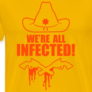 We are all infected T-shirts - Premium-T-shirt herr