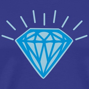 Shiny Diamond T-Shirts - Men's Premium T-Shirt