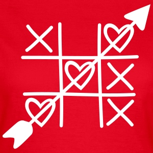 Heart Beat  T-shirts - Dame-T-shirt