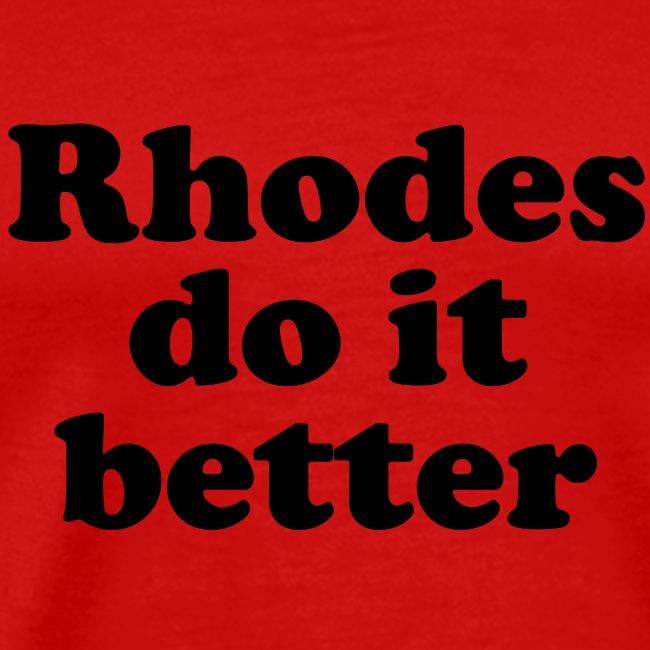 Rhodes Do It Better