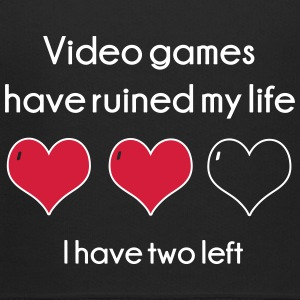 Video Games have ruined my life Hoodies - Kids' Premium Hoodie
