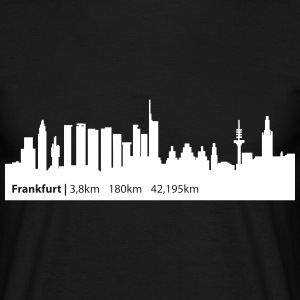 Frankfurt - Swim Bike Run | Frankfurt Triathlon  - Männer T-Shirt