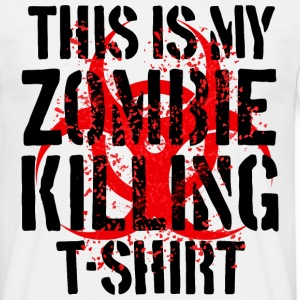 The Zombie Killing Tee - Men's T-Shirt