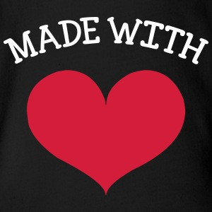 made with love Paidat - Vauvan lyhythihainen luomu-body