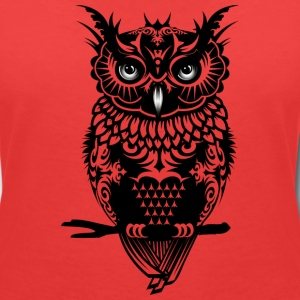 A dark owl T-Shirts - Women's V-Neck T-Shirt
