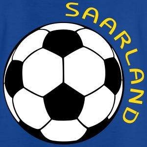 Saarland Fußball Fan Shirt T-Shirts - Teenager T-Shirt