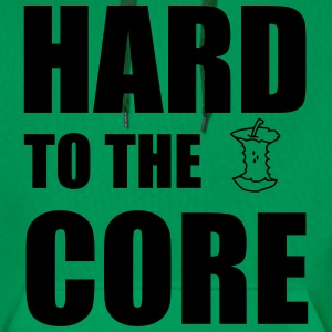 Hard To The Core Sweaters - Mannen Premium hoodie