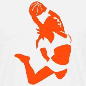 basketball girl T-Shirts - Männer T-Shirt