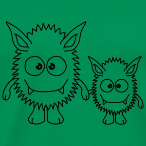 Monster Family T-Shirts - Men's Premium T-Shirt