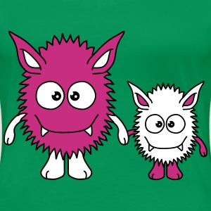 Monster Family T-shirts - Premium-T-shirt dam