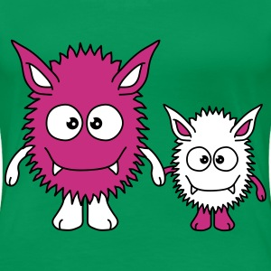 Monster Family T-Shirts - Women's Premium T-Shirt