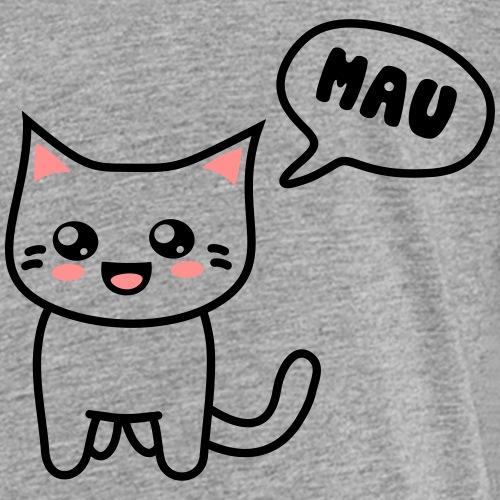 Kawaii Kitteh says mau