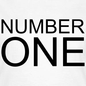 Number One T-Shirts - Women's T-Shirt