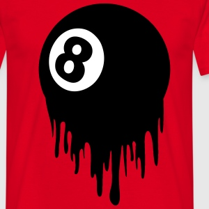8 ball design T-Shirts - Men's T-Shirt