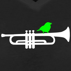trumpet T-Shirts - Women's V-Neck T-Shirt