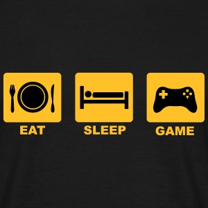 Eat Sleep Game T-Shirts - Men's T-Shirt