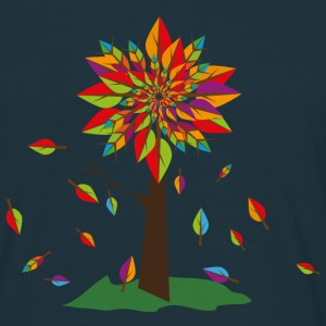 a tree in autumn T-Shirts - Men's T-Shirt