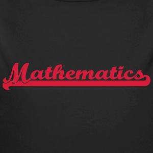 Mathematics Sweats - Body bébé bio manches longues