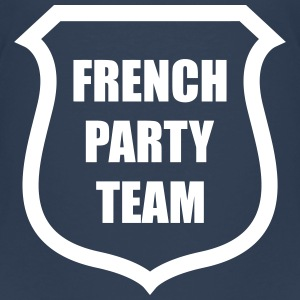 French Party Team T-shirts - Premium-T-shirt barn