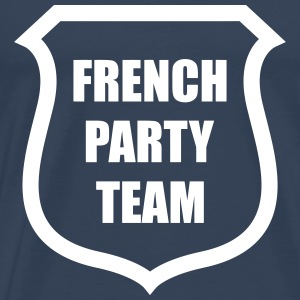 French Party Team T-Shirts - Männer Premium T-Shirt