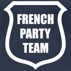 French Party Team T-shirts - Dame premium T-shirt
