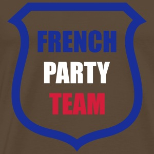 French Party Team T-shirts - Premium-T-shirt herr