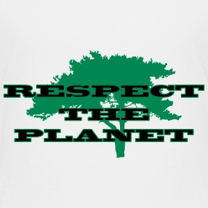 Respect the Planet Camisetas - Camiseta premium niño
