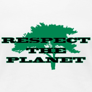 Respect the Planet T-Shirts - Women's Premium T-Shirt